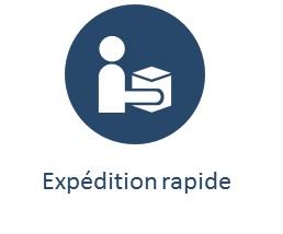 expédition rapide blueau