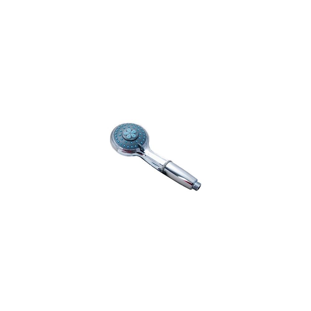Pommeau de douche filtrant chrom blueau for Porte pommeau de douche