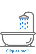 blueau douch bain filtre top