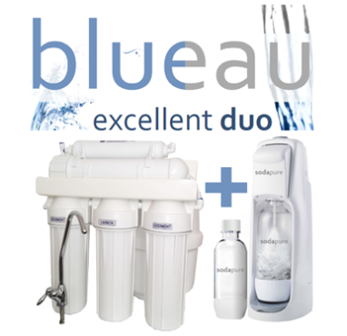 blueau duo soda stream