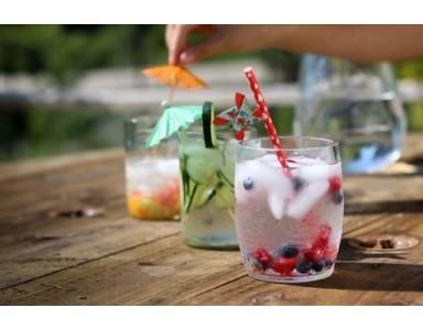 Cocktails Détox avec l'eau osmosée
